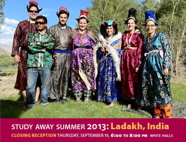 Photo of India Study Away Students