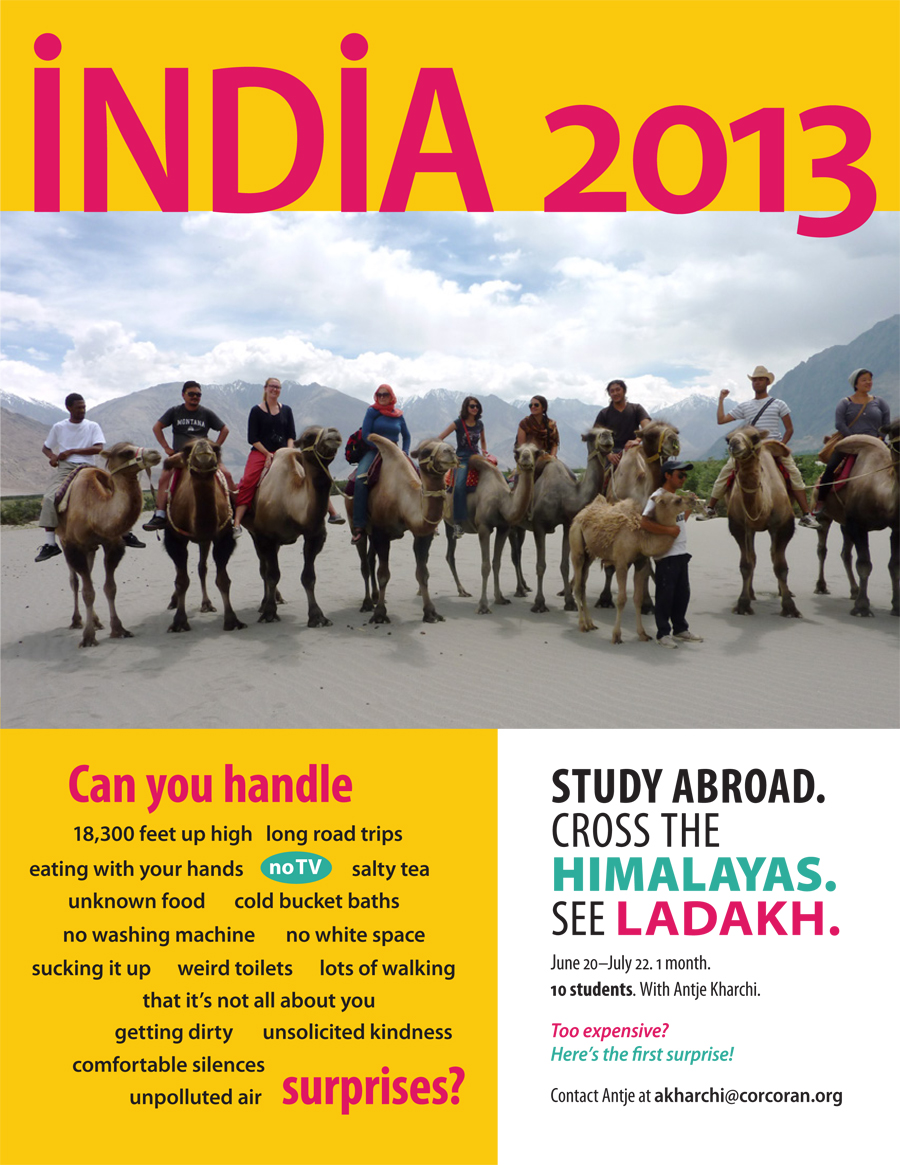 Promo for Study Abroad: India