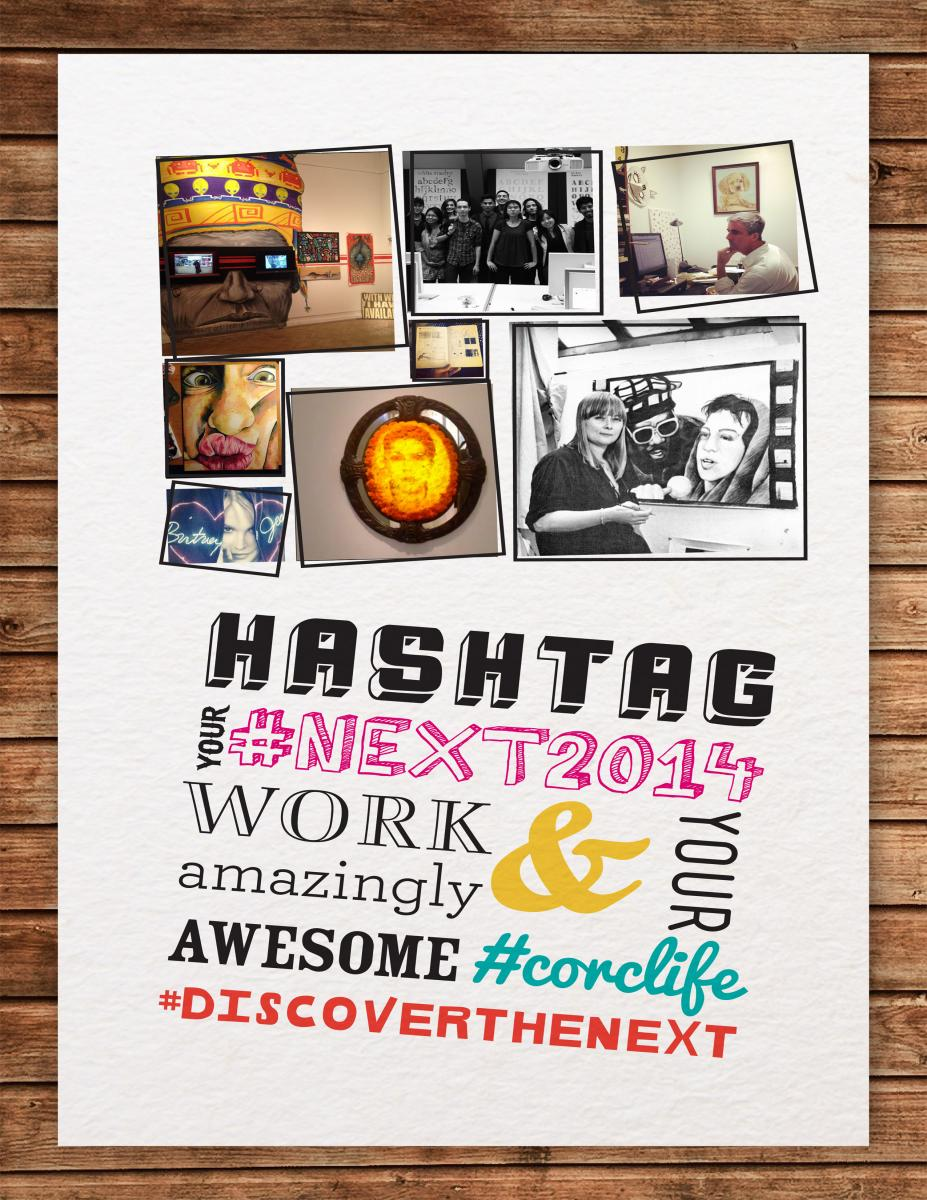 Image  of promo poster for #Next2014