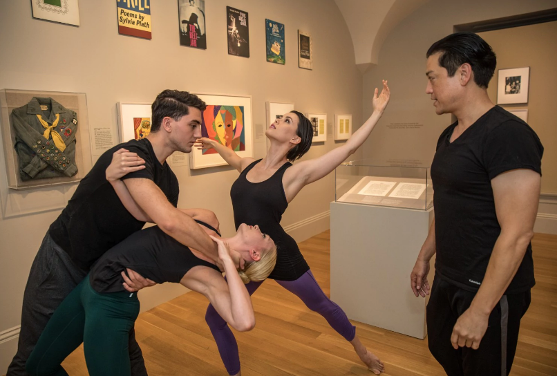 photo of dana tai soon burgess instructing his dancers