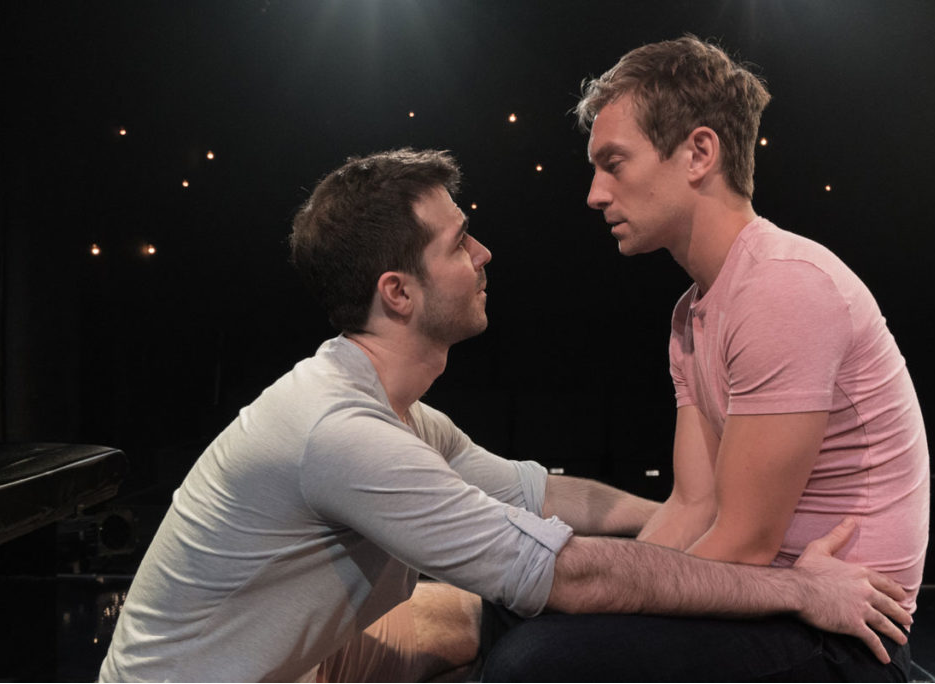 photo from asher gelman's off-broadway show, afterglow
