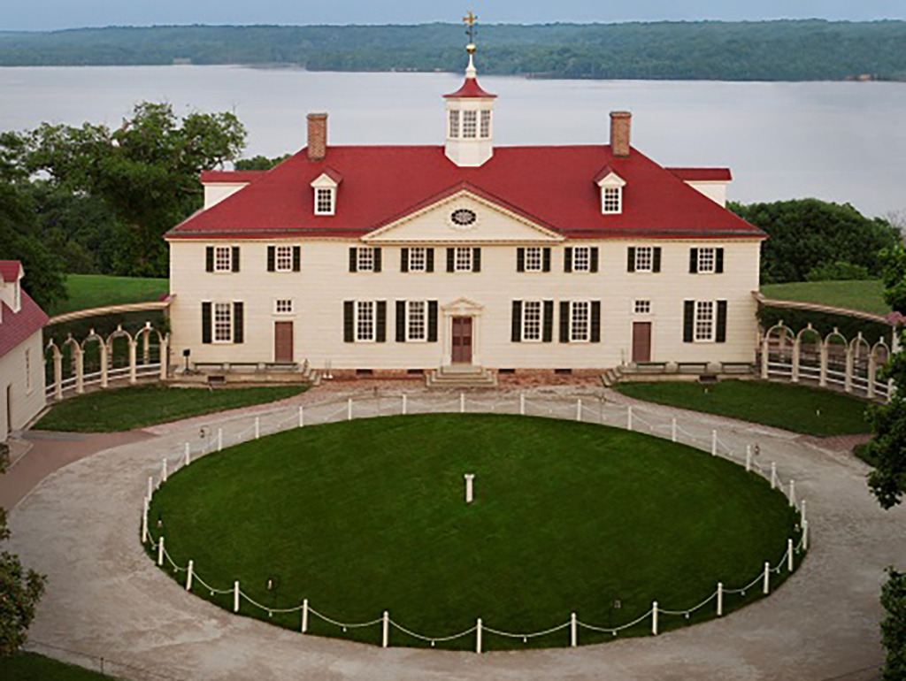 photo of mount Vernon mansion