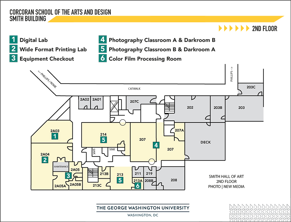 map of smith 2nd floor