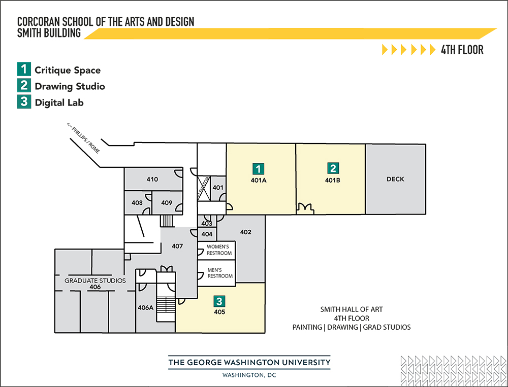 map of smith 4th floor