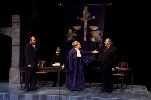 A performance of Shakespeare's The Merchant of Venice