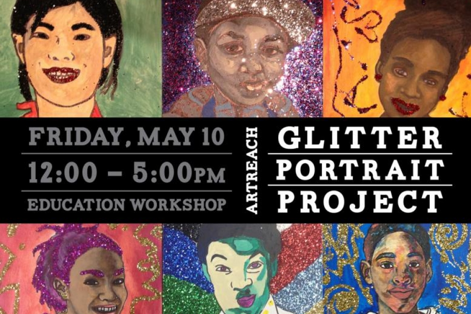 Promo for Glitter Portraits Event