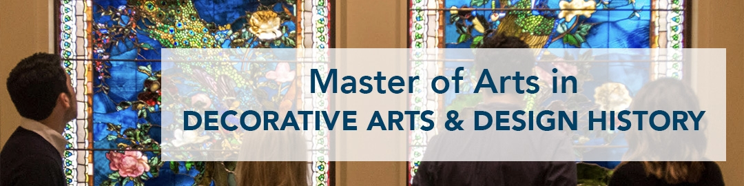 master of arts in decorative arts & design history