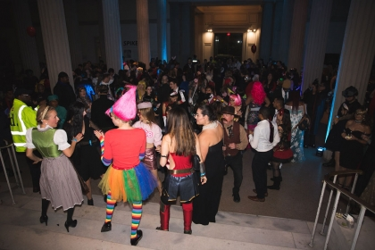 Attendees at the Corcoran Costume Ball