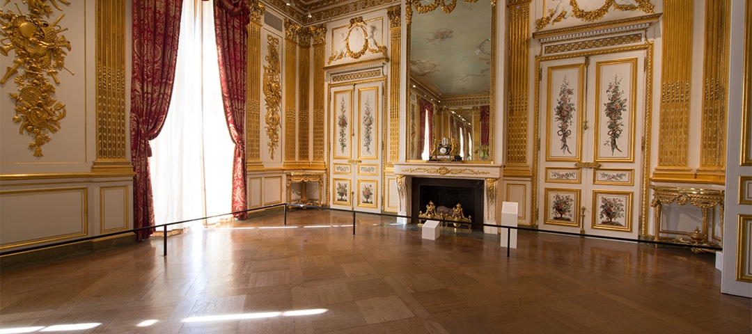 The Salon Doré, a resplendent, gilded room for Corcoran functions