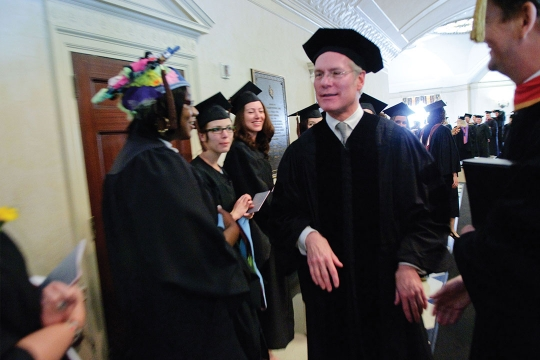 Tim Gunn at Graduation