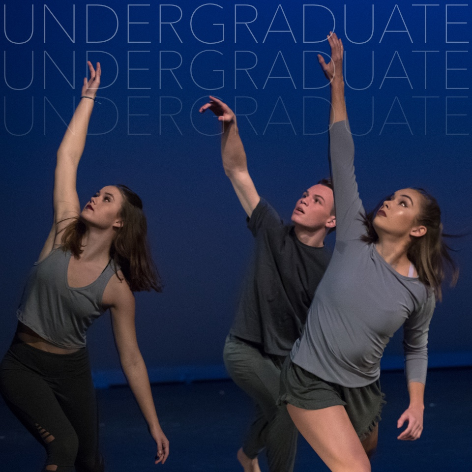 Undergraduate; Undergraduate Admissions; students performing on stage