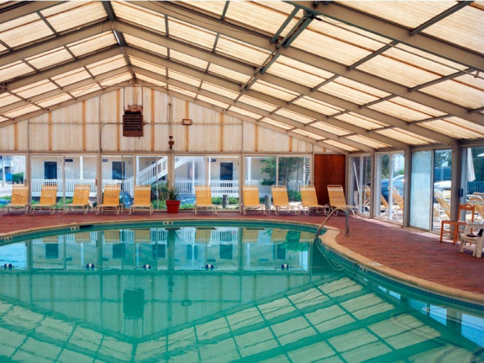 Photo of an indoor pool