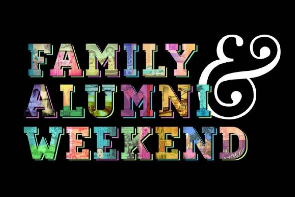 Promo for Family and Alumni Event