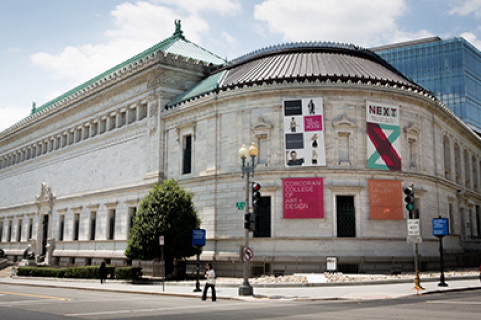 The Corcoran Flagg building