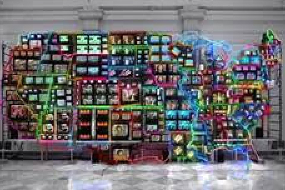 Nam June Paik, Electronic Superhighway