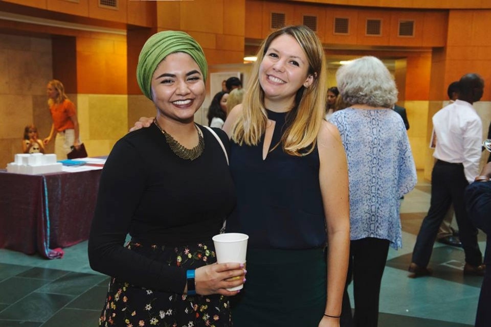 Sana Ullah and Mimi D'Autremont at the IFC event