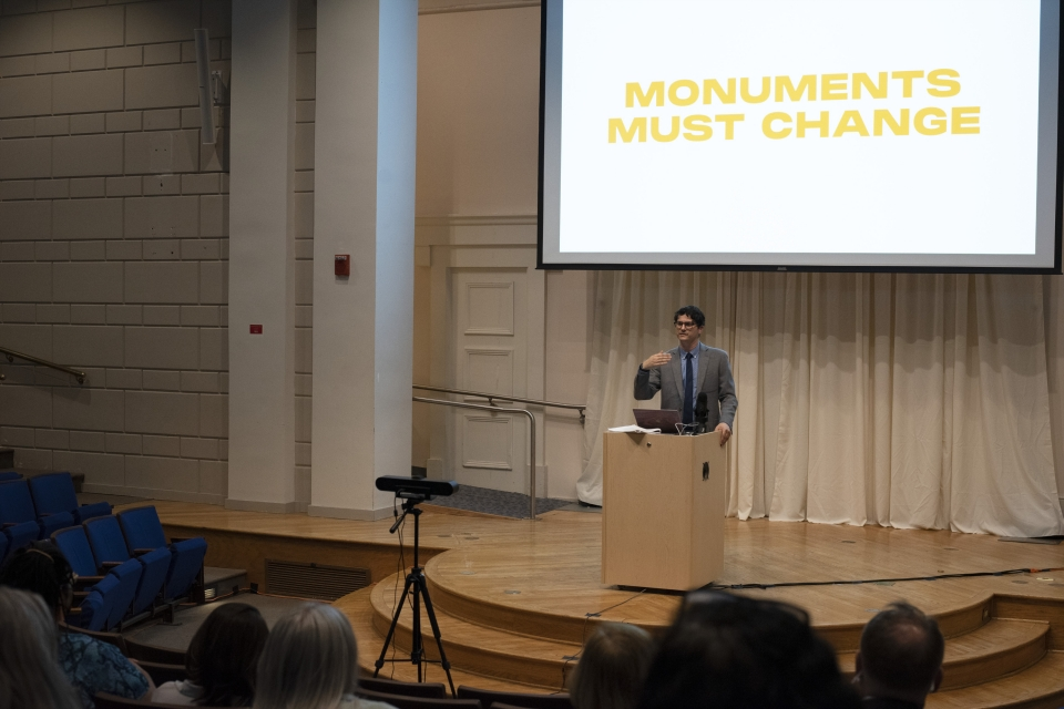 What is a Monument? reception