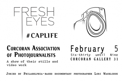 Promo image for Fresh Eyes event