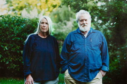 Mark L. Power and wife, Virginia