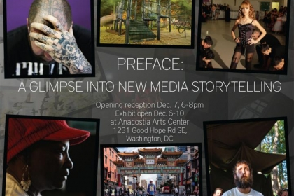 Promo image for new media storytelling