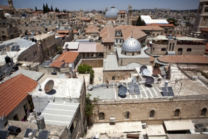 Photo of rooftops in Israel