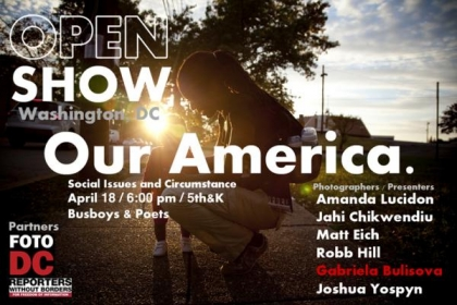 Promo for Open Show: Our America